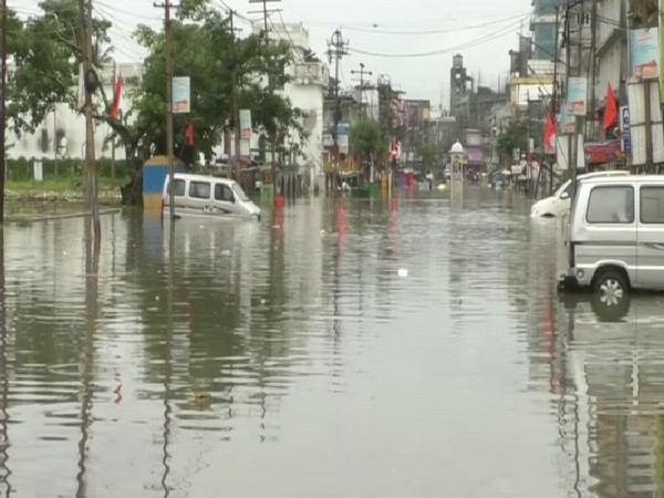 Incessant and heavy rains have led to a flood like situation in Agartala