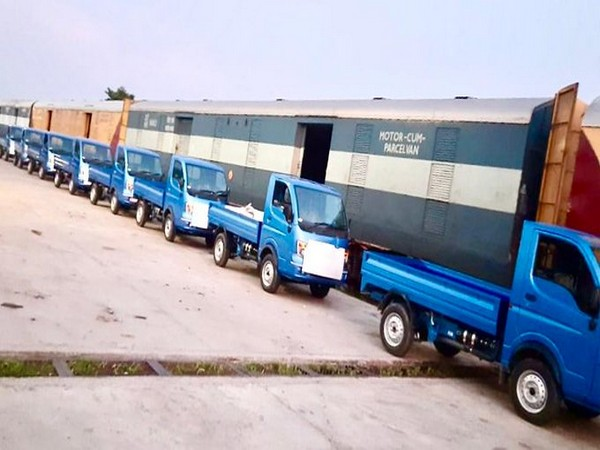 Indian Railways transported 51 Trucks to Bangladesh (Picture tweeted by Indian High Commission in Bangladesh)