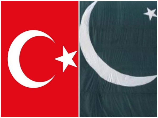 Turkish and Pakistani flag