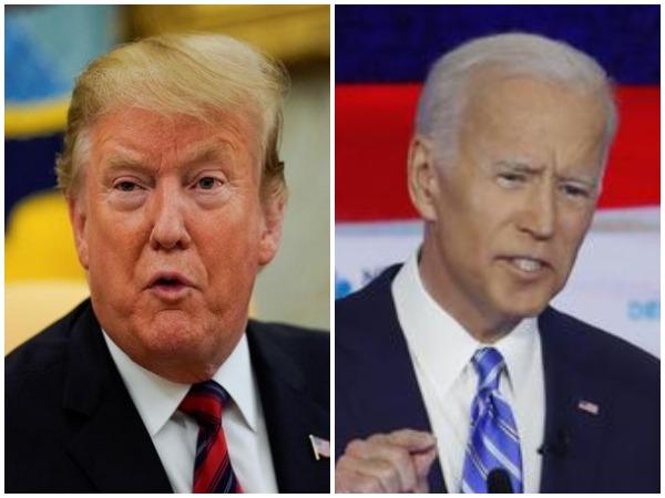 US President Donald Trump and Democrat presidential candidate Joe Biden (File photo)