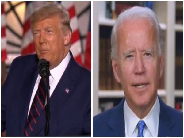 US President Donald Trump and Democratic presidential nominee Joe Biden.