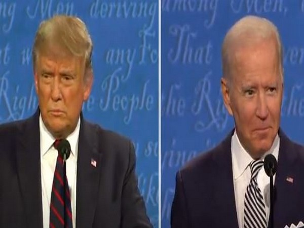 US President Donald Trump and Democratic Presidential nominee Joe Biden