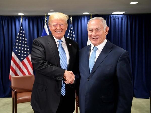 US President Donald Trump and Israeli Prime Minister Benjamin Netanyahu. (File photo)