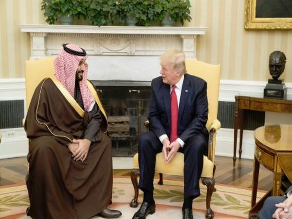 US President Donald Trump and Saudi Crown Prince Mohammad bin Salman at the Oval Office in March this year. (File photo)