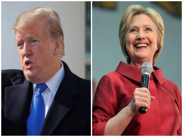 United States President Donald Trump and former Secretary of State Hillary Clinton (File Photos)