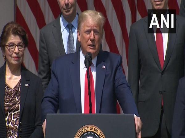 ex-US President Donald Trump