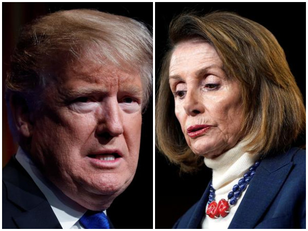 United States President Donald Trump and House Speaker Nancy Pelosi