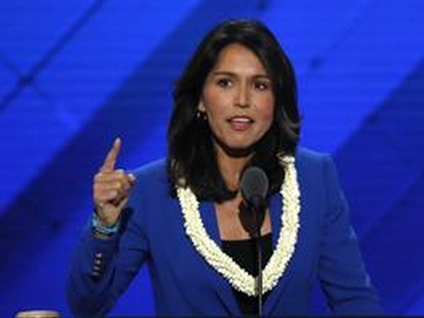 Congresswoman and Democratic presidential candidate Tulsi Gabbard