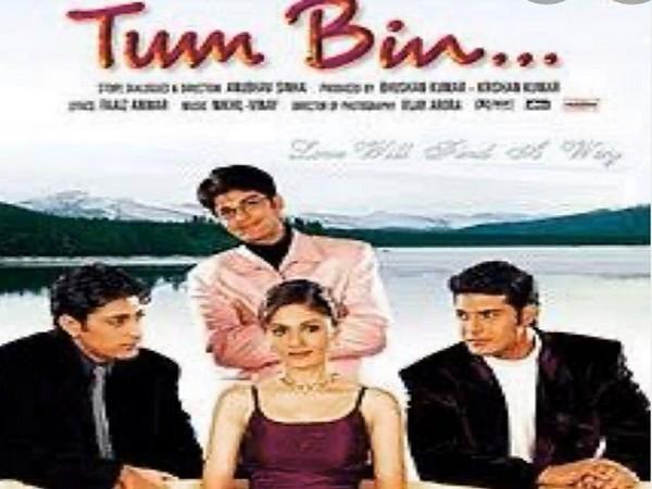 Poster of the film 'Tum Bin' (Image Source: Instagram)