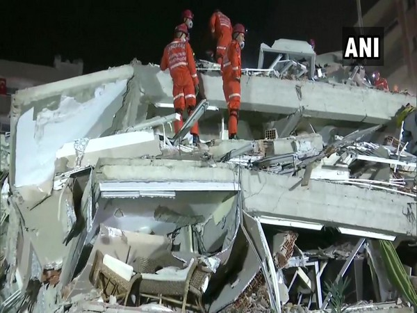 Search and rescue operation underway in the aftermath of Turkey earthquake (ANI)