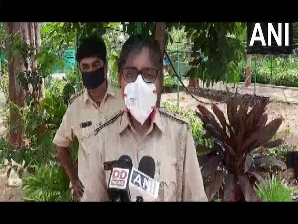 Nidhi Dave, Range Forest Officer (RFO) Vadodara speaking to reporters. (Photo/ANI)