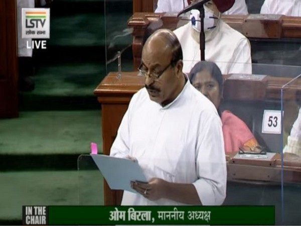 Social Justice and Empowerment Minister Virendra Kumar speaking in Lok Sabha on Tuesday.
