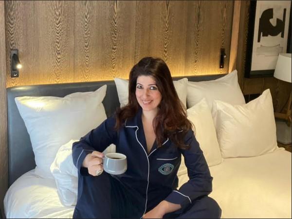 Twinkle Khanna in Multi-Tasking Pyjamas