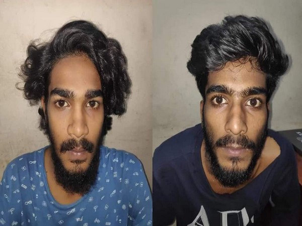 Two bike-borne men were arrested for allegedly attacking police personnel in Kochi.