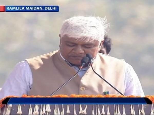 Delhi Cabinet Minister Rajendra Pal Gautam (file photo)