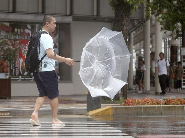 The agency on Saturday issued an emergency warning for landslides in cities including Tokyo and Izu, Shizuoka Prefecture.
