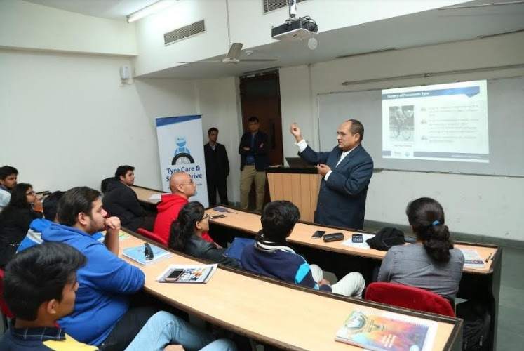 Interactive Session on Tyre Safety at Amity University