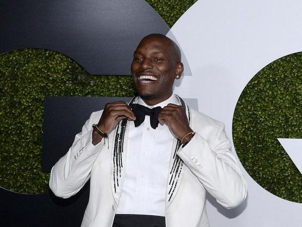 Actor Tyrese Gibson posing during the GQ Men of the Year party