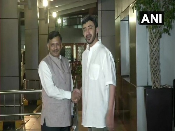 UAE Foreign Minister Sheikh Abdullah Bin Zayed Al Nahyan arrives at IGI Airport in New Delhi on Sunday evening for a three-day visit to the country.