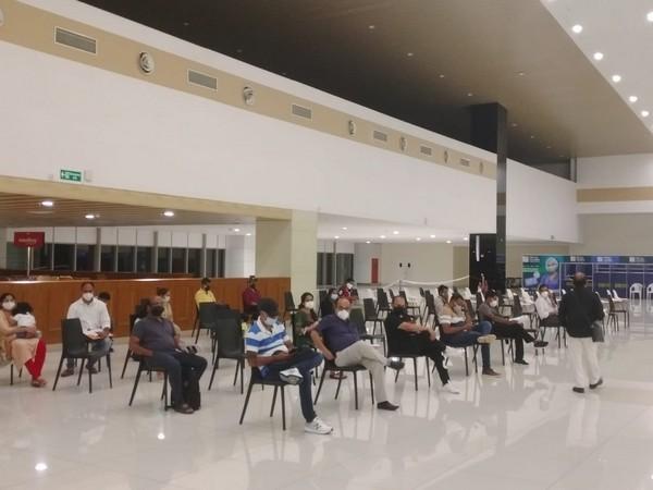 Passengers at Cochin International Airport. (Photo/ANI)