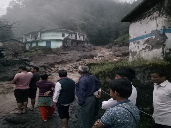Visuals from the site where cloudburst occurred