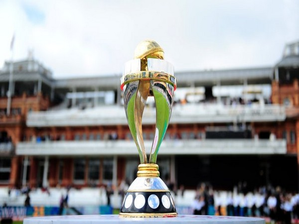 Women's World Cup trophy (Photo/ ICC Twitter)