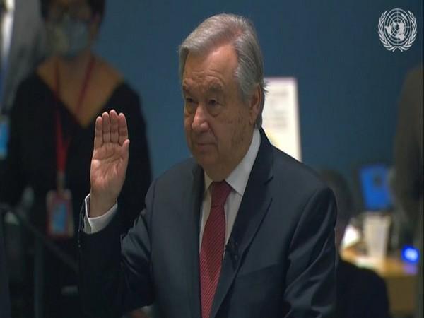 UN Secretary-General Antonio Guterres (Photo Credit: UN Twitter)