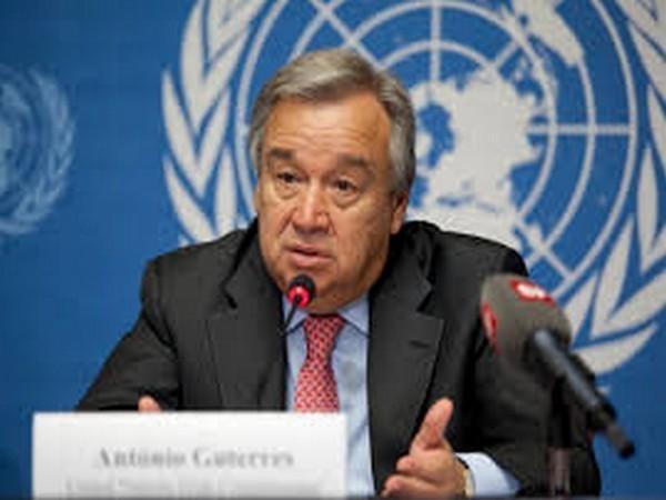 UN Secretary-General Antonio Guterres. (File Photo/ANI)