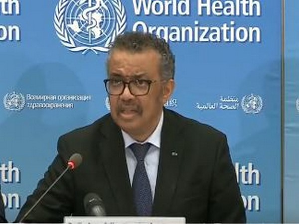World Health Organisation (WHO) chief Tedros Adhanom Ghebreyesus
