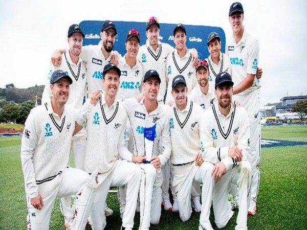 New Zealand team (Photo/ ICC Twitter)