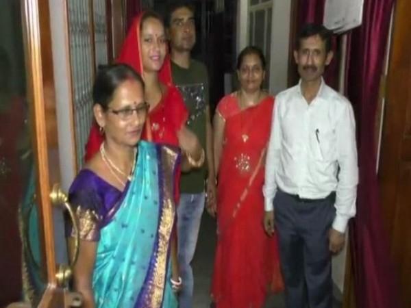 Family of Subham Singh who topped UPSC in Bihar's Katihar (Photo/ANI)