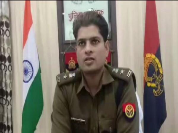 Yashveer Singh, Superintendent of Police. Photo/ANI