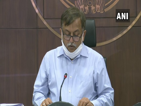 Awanish K Awasthi, Additional Chief Secretary, Home addressing a press conference in Lucknow on Saturday. Photo/ANI