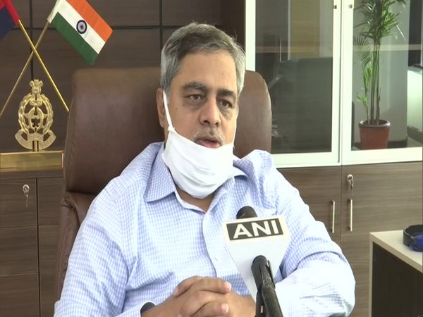 Uttar Pradesh Additional Director General (ADG) Law and Order PV Ramasastry speaking to ANI on Saturday. Photo/ANI