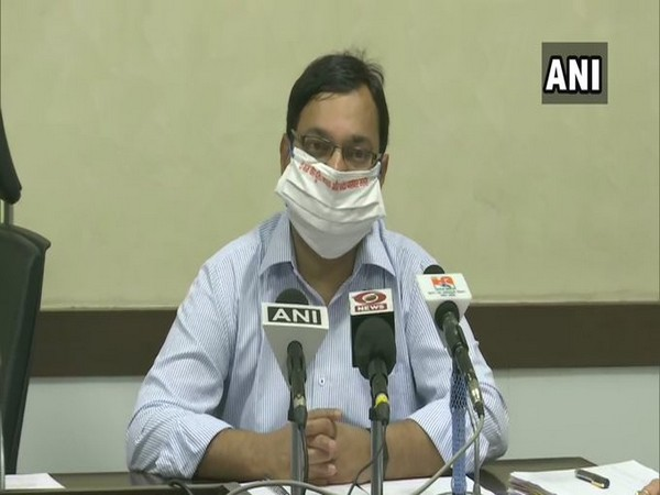 State Principal Health Secretary Amit Mohan Prasad during a press briefing in Uttar Pradesh on Saturday. (Photo/ANI)
