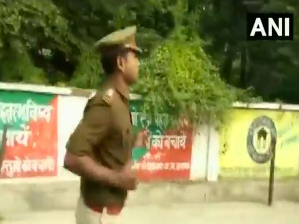 SI Vijay Pratap jogging from Police Lines police station.