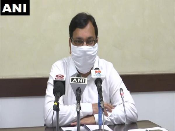 Uttar Pradesh Chief Secretary, Health, Amit Mohan Prasad. Photo/ANI