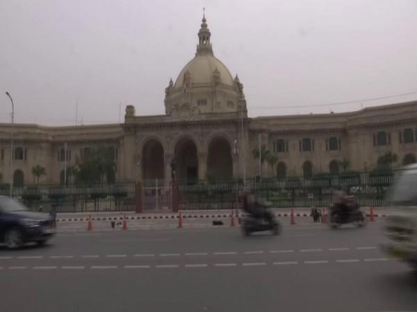 Visual of Uttar Pradesh Legislative Assembly