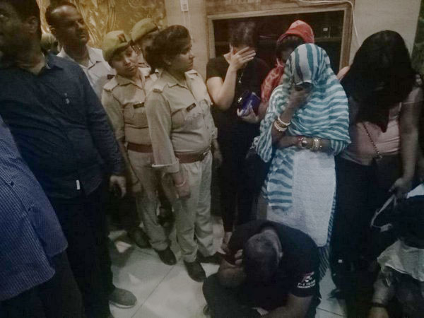 Raids at spas in Gautam Buddh Nagar