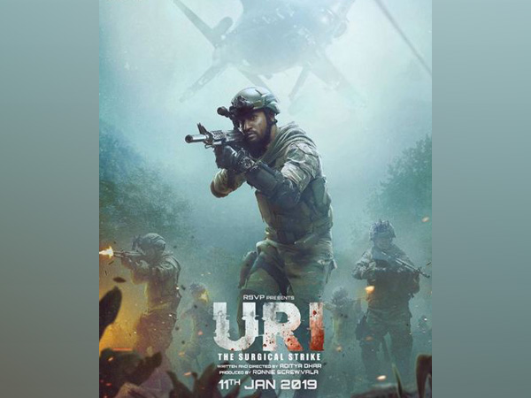'Uri: The Surgical Strike' poster