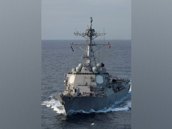 USS Mustin, Arleigh Burke-class guided-missile destroyer (Photo Credit - Reuters)