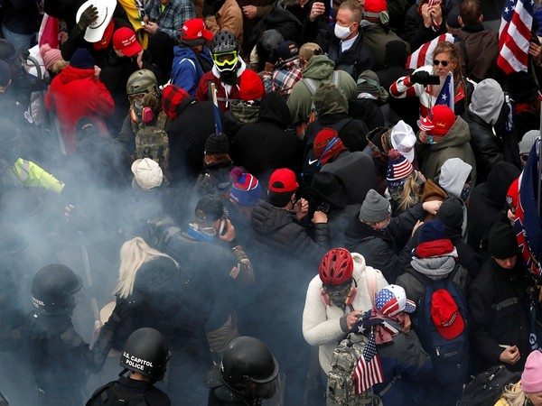 A visual of US Capitol Hill January 6 violence (Photo Credit - Reuters)