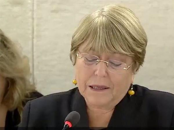 UN Human Rights chief Michelle Bachelet (File Photo)