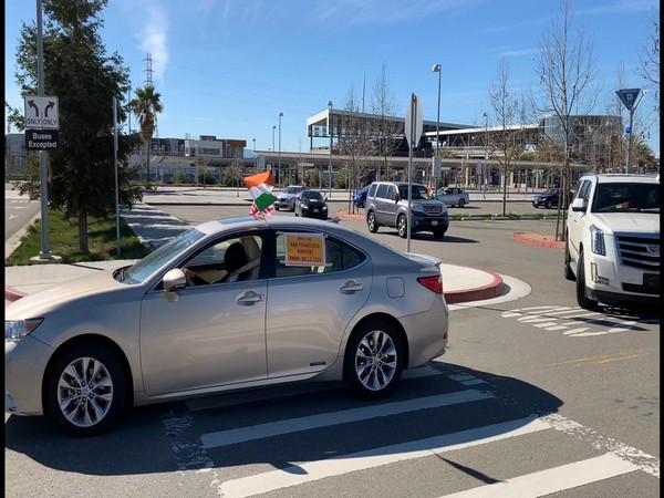 The NRIs of the San Francisco Bay Area on Sunday (local time) organised a car rally to show support to Farm Law introduced by the Indian government.