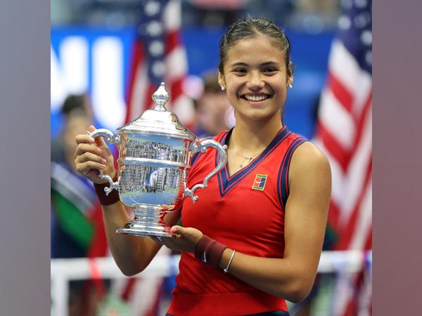 US Open winner Emma Raducanu (Photo/ US Open Twitter)