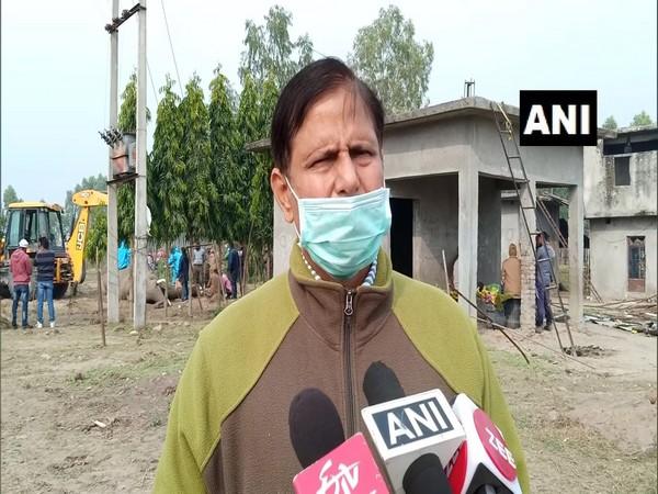 Neeraj Sharma, DFO, Haridwar Forest Division, speaks to media on Tuesday. (Photo/ANI)