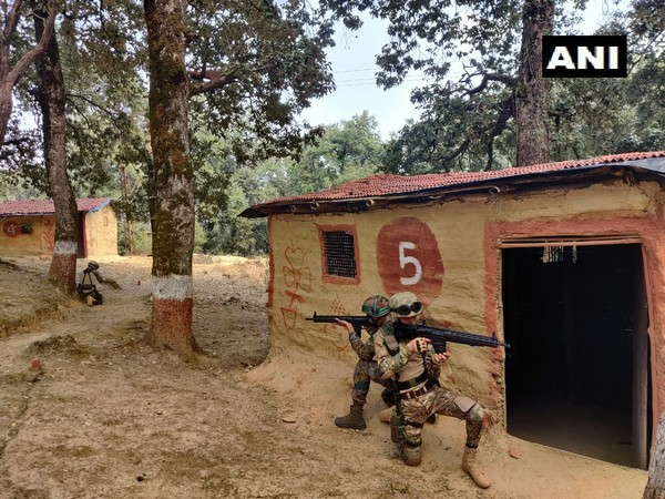 Soldiers each from Uzbekistan and Indian Army are participating in the military exercise DUSTLIK II. (Photo/ANI)