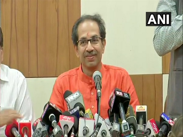 Maharashtra Chief Minister Uddhav Thackeray addressing a press conference in Mumbai on Friday. Photo/ANI