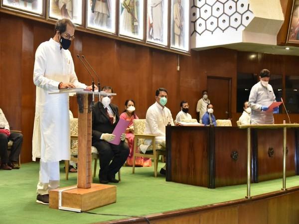 Maharashtra Chief Minister Uddhav Thackeray takes oath as a Member of the Legislative Council