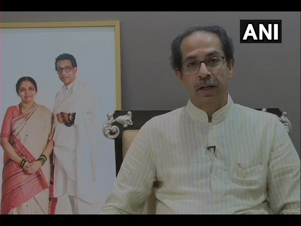 Maharashtra Chief Minister Uddhav Thackeray during a press conference in Mumbai on Sunday. Photo/ANI